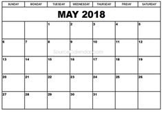 Calendar March 2018, June Calendar Printable, 2018 Calendar Template, Print Calendar, January 2018, October, Calendar Ideas, Calendar Numbers, Diagram