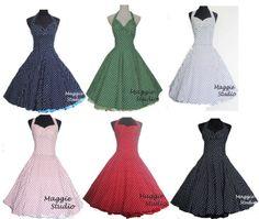 5b429ad12b9c Details zu 50er Jahre Tanz Kleid Petticoat Vintage Partykleid Abendkleid  Unterrock AH212 42