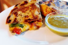 Shrimp Quesadillas - Pioneer Woman