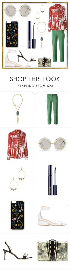 """""""Be your own style"""" by denisee-denisee ❤ liked on Polyvore featuring Kendra Scott, Versace, Jean-Paul Gaultier, Dolce&Gabbana, Atelier Mon, Zero Gravity, Gabriela Hearst, Giuseppe Zanotti and Nathalie Trad"""