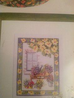 Lanarte 34393 Window and Flowers
