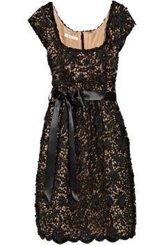 black lace....love.