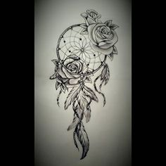 Rose dreamcatcher
