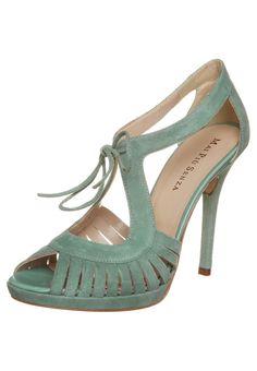 Mai Piu Senza High Heel Sandalette in Mint