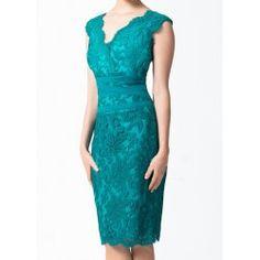 Vintage Solid Color Floral Embroidery V-Neck Sleeveless Backless Women's Dress