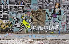 Arte Urbano en Barcelona http://www.fotoescapada.com/escapada-que-ver-hacer-barcelona-2/