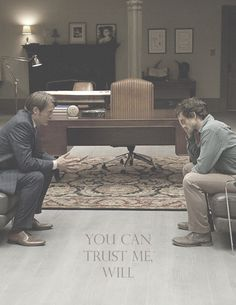Dr Hannibal Lecter You can trust me