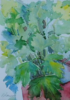 Parsley Painting