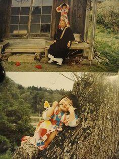 日本摄影师川岛小鸟的摄影集《未来ちゃん》