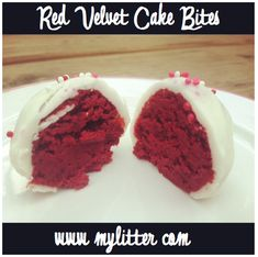Red Velvet Cake Balls/Bites - $.10 a Bite! - MyLitter - One Deal At A Time