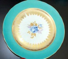 AYNSLEY & SONS, JOHN 2406-TURQUOISE - Replacements Ltd.