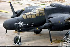 Northrop P61 Black Widow Night Fighter.  Shannon's cousin Clayton Duvall (a Texas A Aggie) was killed during his first combat flight in a P61 in Saipan in WWII.