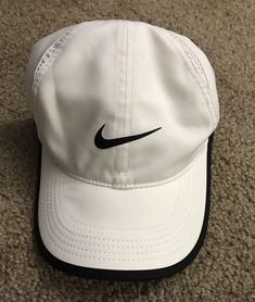 ad2e3e98ec4 NIKE FEATHERLIGHT Dri-Fir Hat Cap White Adjustable Running Performance  Cooling  fashion  clothing  shoes  accessories  mensaccessories  hats (ebay  link)