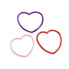 Valentine Heart Bracelet Party Favor 12 Count