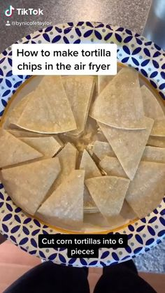 This is SO GOOD and so easy. Definitely making these this weekend Air Fryer Oven Recipes, Air Frier Recipes, Air Fryer Dinner Recipes, Healthy Side Recipes, Healthy Chicken Recipes, Healthy Desserts, Fried Chips, Air Fried Food, Bariatric Eating