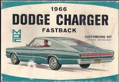 1/25 MPC 1966 Dodge Charger Fastback Customizing Kit