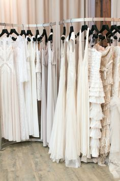 a behind the scenes look at the offices of BCBGMAXAZRIA weddings Photography by Bryce Covey Photography / brycecoveyphotography.com #WeddingDress #Fashion