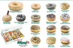 Donut Flavors Available J Co Donuts Coffee In 2019 Pinterest