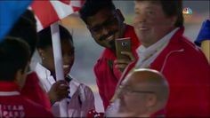 Athletes wanting to take selfies with Simone Biles caused a traffic jam during…