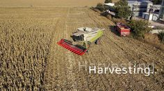 Rusovce by FOXON.SK. harvesting time in next village