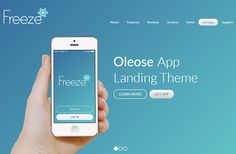 Here's another highlighted freebie consecutively. Oleose, made by Scoop Themes, is an inconceivably attractive and completely responsive Bootstrap 3 Template for any application expert landing page.The bootstrap layout accompanies a designer neighbourly and simple to adjustable code. It chips away at all fundamental web programs IE8+, tablets and telephones. Likewise, the format comes in 3 hues: Berry, Freeze and Eco.