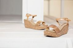 Zeppe in sughero di Maria Mare! Cork wedge by Maria Mare! www.calzaveste.it