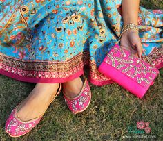 House of Vian - Fabulous Indian footwear and accessories Indiana, Fabric Embellishment, Tarun Tahiliani, Just The Way, Peach Colors, Summer Wardrobe, Winter Collection, Indian Fashion, Wedding Shoes