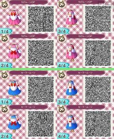 Animal Crossing New Leaf Sailor Moon cosplay