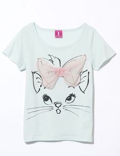 ~ Marie Shirt ~ Love! Add some Pink shorts or jeans and adorable Disneybound!