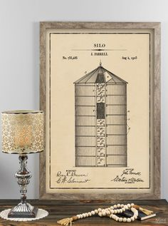 Farmhouse Patent Art