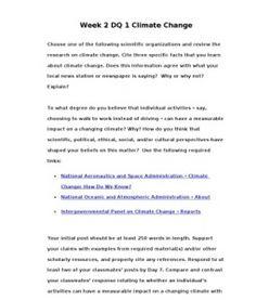 POL310  POL 310  Week 2 DQ 1 Climate Change --> http://www.scribd.com/doc/133944847/POL310-POL-310-Week-2-DQ-1-Climate-Change