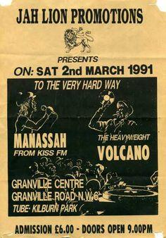 Manasseh & Volcano - 1991