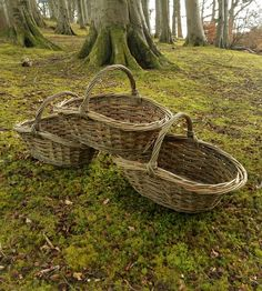 Vegetable Picker basket by John Cowan Baskets