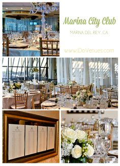 Southern California Wedding Venue: Contemporary chic Marina City Club on I Do Venues shot by Tommy John Studios