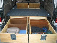 Skyrat's Rear Cargo Box and Sleeping Platform - 3rd Gen 4Runner - YotaTech Forums