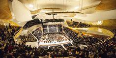 Grande Salle de la Philharmonie : première répétition orchestre le 12 janvier 2015
