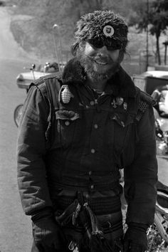 """""""Hambone"""" poses during the ride from Berdoo to Bakersfield. Ray and Bride spent more than a month with the Angels in the spring of '65, """"mostly on weekends."""""""
