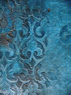 Blue - azul -  Tadelakt