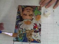 How to make an archetypeal soul collage card