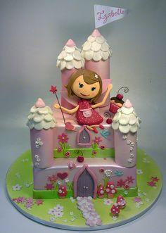 Fairy Castle Cake | 480 fairy castle CREATIVE CAKE ART FIRST BIRTHDAY CHRISTENING AND ...
