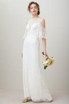 Retro Bridesmaid Dresses with Sleeves
