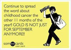 Pediatric Cancer Awareness, Childhood Cancer Awareness Month #ASICS