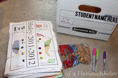 Storage for Homeschool