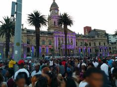 The atmosphere in Cape Town, on Sunday night (6 December 2015), was filled with cheer, music and excitement as we gathered outside the City Hall to celebrate the switching on of Cape Town's festive lights. The Mother City was ablaze with colour and exuberance and the theme, We Love Africa, was the spirit of the night. Cheer Music, Sunday Night, Cape Town, Times Square, Festive, The Outsiders, This Is Us, December, Africa