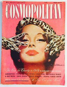 Cosmopolitan magazine, OCTOBER 1949 Artist: Jon Whitcomb
