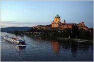 Basilica in Esztergom on the riverside of the Danube #Hungary