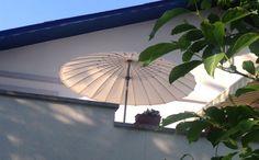 Sonnenschirm Vaticano Rund 250 cm Klassischer Sonnenschirm mit modernen Look - Neigbar mit Kurbel Bespannung aus 210 gr/m O'Bravia, Scotchguard Beschichtet, Lichtechtheit 7-8/8 Mastdurchmesser 38,5 mm  Mehr Info's auf www.solero-sonnenschirme.at