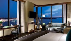 wake up to a view of the Sound at Hotel 1000 (Seattle, Washington) - Jetsetter