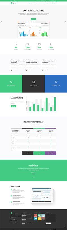 Highlight your web analytics skills with Optimize WordPress theme.  #wordpress #theme #webdesign #design #seo #marketing #digitalmarketing #marketingagency #startup #hosting #socialmedia #interactive #analytics #infographic