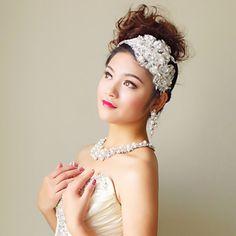 Fabric Flowers with Rhinestone Wedding Headpieces – USD $ 19.99